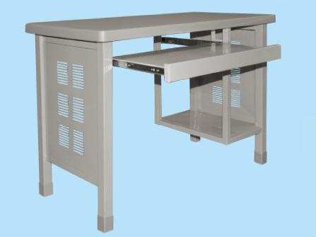 电脑桌(新钢塑制式营具)